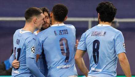 МанСити уверенно обыграл Боруссию в первом матче 1/8 финала Лиги чемпионов: видео