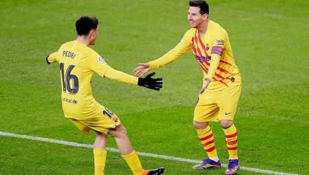 Нестримний Мессі допоміг Барселоні здолати Севілью
