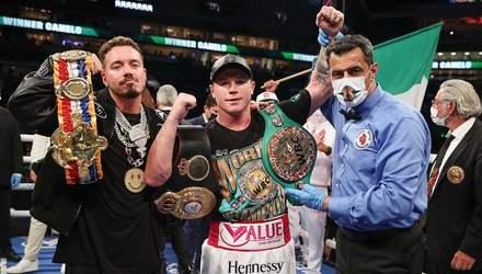 Сауль Альварес за 3 раунда победил Авни Йылдырыма и сохранил титулы WBC и WBA