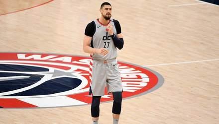 Вашингтон с Ленем во второй раз победил Денвер в НБА