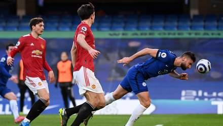 Челсі не зумів обіграти Манчестер Юнайтед та залишився поза топ-4 в АПЛ: відео