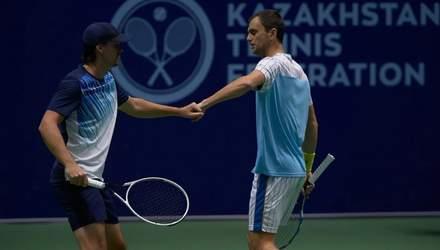 Український тенісист Молчанов – переможець парного турніру ATP у Казахстані