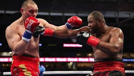 Американський боксер уникнув поразки, побувавши у нищівних нокдаунах: відео