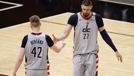 Вашингтон с Ленем проиграл Бостону с разницей в одно очко: видео матча НБА