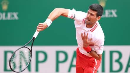 Новак Джокович сенсаційно програв у Монте-Карло та не зміг продовжити свою серію