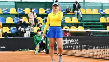 Марта Костюк перемогла чергову росіянку на турнірі WTA
