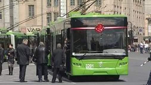 Харьков закупил первые троллейбусы и автобусы к Евро-2012