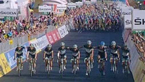 Велосипедисты почтили память погибшего Вейланда