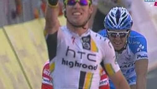 Марк Кавендиш выиграл второй этап нынешнего Джиро