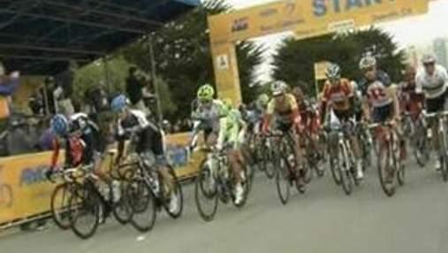 Участники преодолели длинный этап - 217 километров дистанции