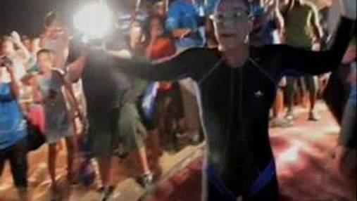 48-річна Пенні Палфрі проплила 112 кілометрів без зупинок