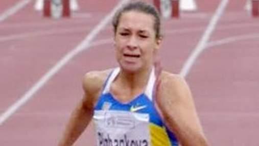 Украинка Дарья Пижанкова финишировала второй на 100-метровке