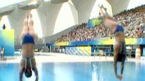 """Збірна Китаю з водних видів спорту завоювала ще 2 """"золота"""""""