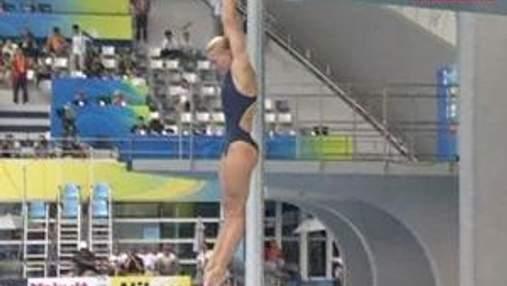 Олена Федорова стала десятою на метровому трампліні