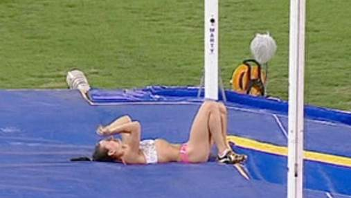 Елена Исинбаева получила травму
