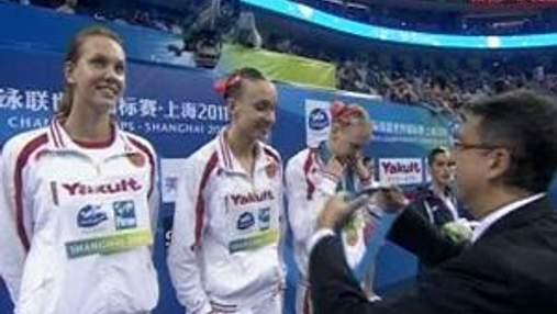 """Росіянки виграли шосте """"золото"""" у синхронному плаванні"""
