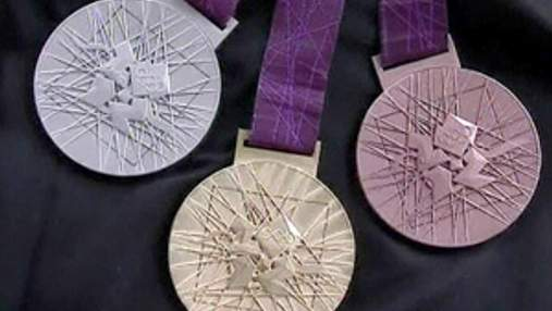 В Лондоне презентовали медали на Олимпийские игры 2012 года