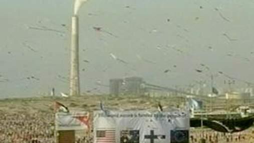 Тисячі дітей у Секторі Газа запустили повітряні змії, побивши світовий рекорд