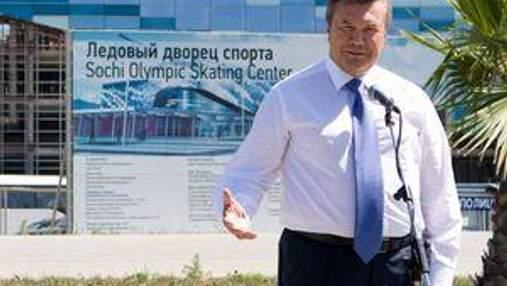Янукович хочет перенять опыт России по подготовке к Зимней олимпиаде