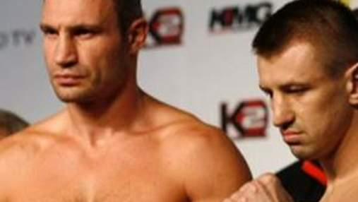 Виталий Кличко и Томаш Адамек провели процедуру взвешивания