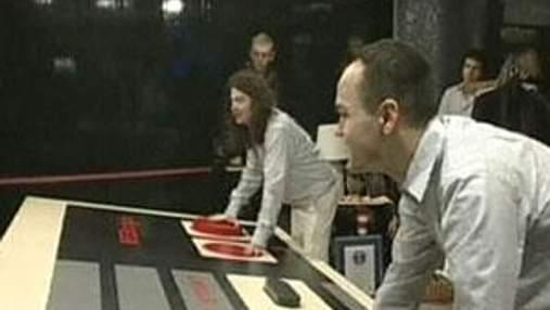 В Лондоне стартовала 5 выставка игровых рекордов Гинесса