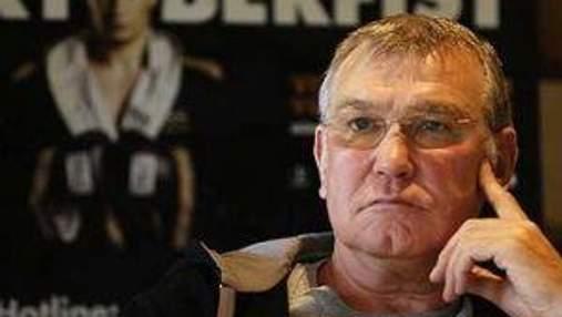 Тренер Кличка проти довічної дискваліфікації Чізори