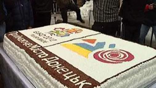 В Донецке праздновали масленицу и 100 дней до Евро-2012