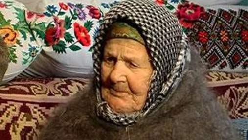 Старейшей украинке Екатерине Козак исполнилось 115 лет