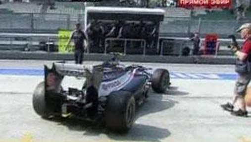 Валтері Ботас з Williams дебютував у Формулі-1