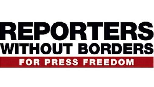 Репортери без кордонів: В Україні різко погіршився стан свободи слова