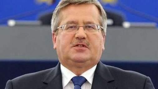 Коморовський: ЄВРО виграли Україна та Польща