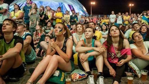 Финал ЕВРО-2012 в Киеве праздновали до 4 утра. Обошлось без нарушений
