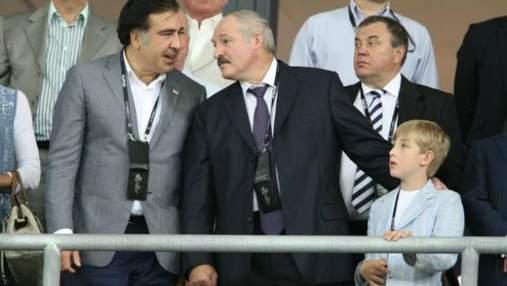 Лукашенка та Саакашвілі не пустили в одну ложу до Януковича і євролідерів