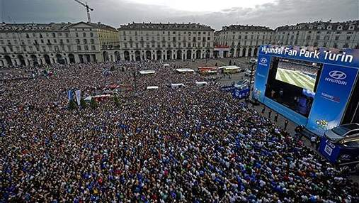 Лицо финала ЕВРО-2012: Как болели фаны и VIPы
