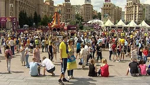 За 4 матчі ЄВРО-2012 до бюджету Києва надійшло понад 80 млн грн