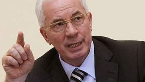 Азаров отрицает кражу денег правительством на ЕВРО-2012