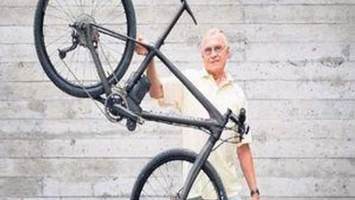 Швейцарец создал самый легкий в мире горный велосипед