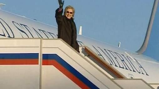 Хиллари Клинтон за 4 года посетила 102 страны мира