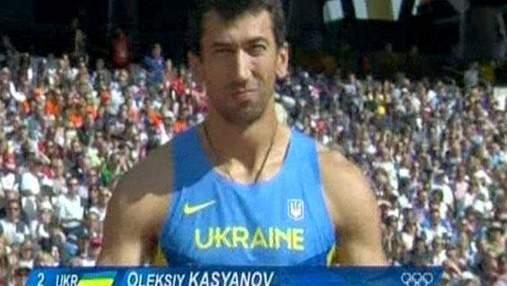 Алексей Касьянов поднялся на третью позицию после толкания ядра
