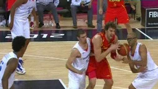 Сборные Испании и России по баскетболу - первая пара полуфиналистов на Олимпиаде