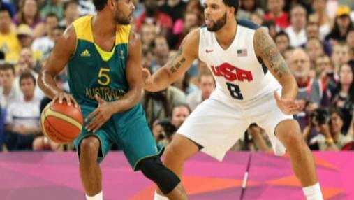 Мужская сборная США по баскетболу дошла до полуфинала