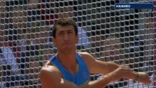 Алексей Касьянов, украинский десятиборец, сейчас находится на третьем месте