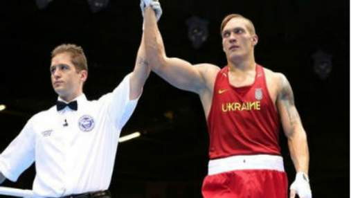 "Президент поздравил Александра Усика с олимпийским ""золотом"""