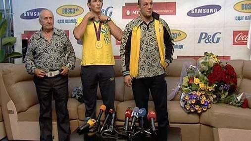 Украинские призеры Олимпиады-2012 привезли медали домой