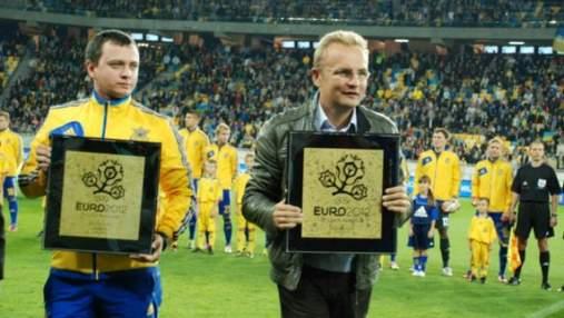 УЕФА наградил Львов отличием за ЕВРО