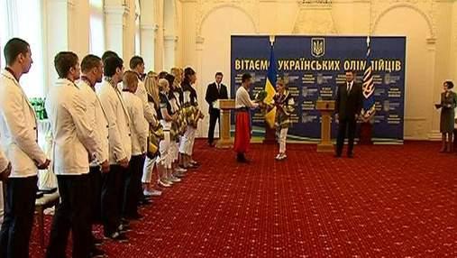 Виктор Янукович поздравил олимпийскую сборную с успехом в Лондоне