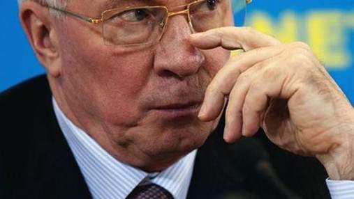 Азаров увидел вину оппозиции в том, что в украинских олимпийцев забрали медали