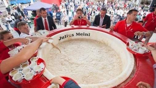 В Хорватии приготовили самую большую чашку капучино (Фото)