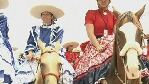 В Мексике установлен рекорд по самому массовому женскому родео