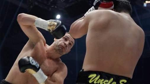 Кровавый бой Виталия Кличко в Москве